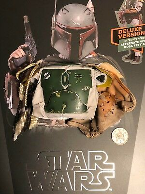 Hot Toys Star Wars ESB Boba Fett DELUXE MMS464 Chest Armour loose 1/6th scale