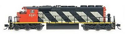 New Intermountain N scale EMD SD40-2W CN Canadian National Rd#  5252