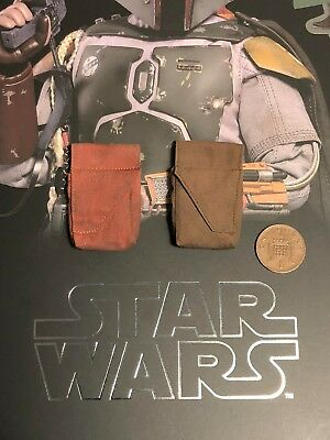 Hot Toys Star Wars ESB Boba Fett DELUXE MMS464 Extra Pouches loose 1/6th scale