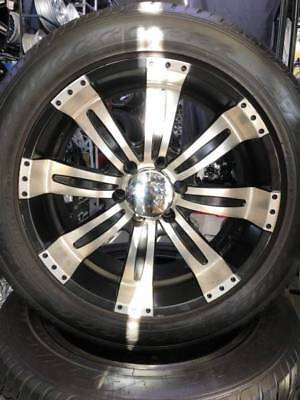 4x4 SUV Wheel And Tyre Package 6/139 Suit Triton Hilux Ranger Colorado 20 Inch