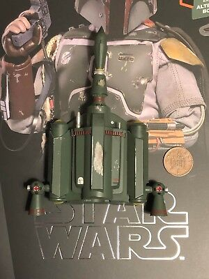 Hot Toys Star Wars ESB Boba Fett DELUXE MMS464 Jet Pack 2 loose 1/6th scale