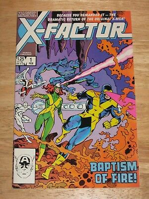 X-Factor 1 Unread NM Marvel Comics  X-Men Spin off  from 1985