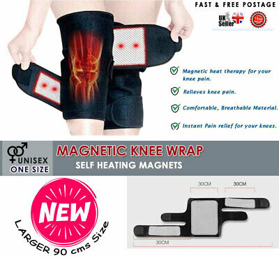 Self Heating Knee Pad Magnetic Thermal Therapy Arthritis Support Brace Protector