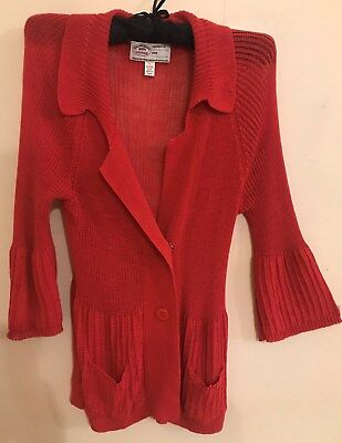 Gorgeous VERGE NZ Cardigan-Size L/12-14 LOOK