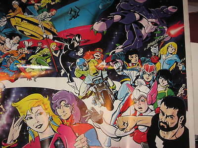 Comico Huge Giant Comic Shop Advertising Promotional Poster Unused Never Hung Up