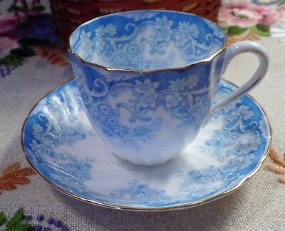 Tuscan Fine English Bone China Cup And Saucer Excellent Condition