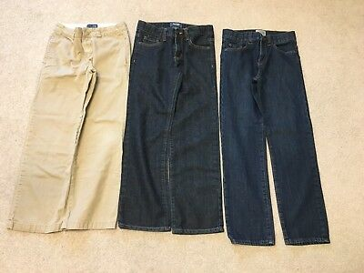 Children's Place & Old Navy Jeans and Khaki Pants Size 10 3 Pairs in Total