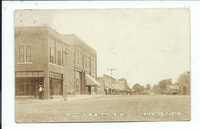 Real Photo Postcard Post Card Branson Missouri Mo Commercial Street