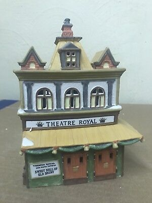 Dept 56 Dickens Village ~ Theatre Royal ~ Item #55840