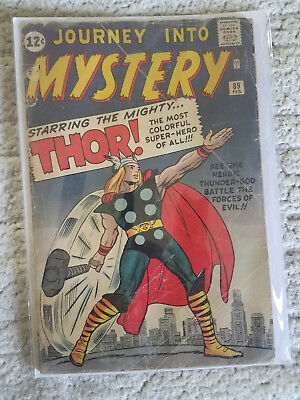 Journey Into Mystery #89 1963 starring THOR
