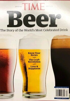 TIME SPECIAL 2018 BEER THE STORY OF THE WORLD'S MOST CELEBRATED DRINK craft wine
