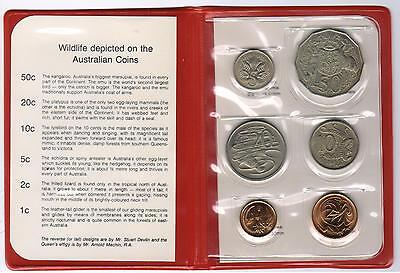 1980 RAM Uncirculated (UNC) 6 Coin Mint Set