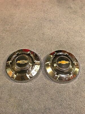"""1969-70 1971-72 Chevy C-20 Truck 3/4 Ton Hubcaps Dog Dish Wheel Covers 12"""""""