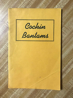 Cochin Bantams book showing chicken poultry