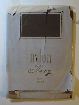 Pair Of Vintage Dupont Nylon Seamed Stockings.  Fully Fashioned.