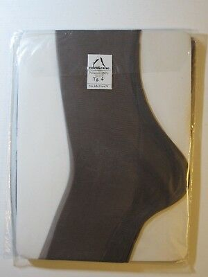 PAIR OF CALZA & CALZE SEAMED STOCKINGS. 100% Polyamide. Size 4.