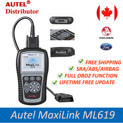 Autel ML619 Same AL619 OBD2 Auto Diagnostic Scan Tool Code Reader ABS Airbag SRS