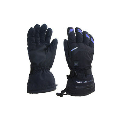 Christmas Rechargeable Electric Battery Touchscreen Winter Warm Heated Gloves