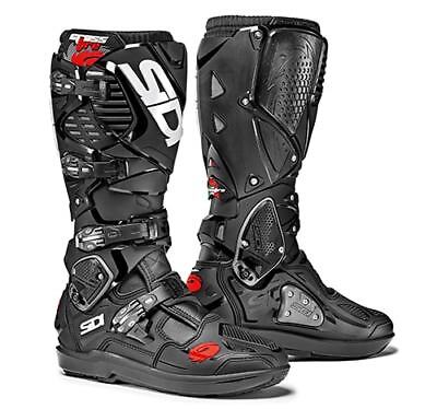 Sidi Crossfire 3 SRS Motocross Boots - Black SIZE EU 47 UK 12