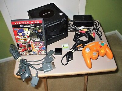 Nintendo Gamecube Console Bundle with Demo Disk, Pre-Owned in Great Shape
