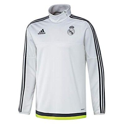 Adidas Real Madrid Players Adult Training Zip Top 15/16 Uk Small