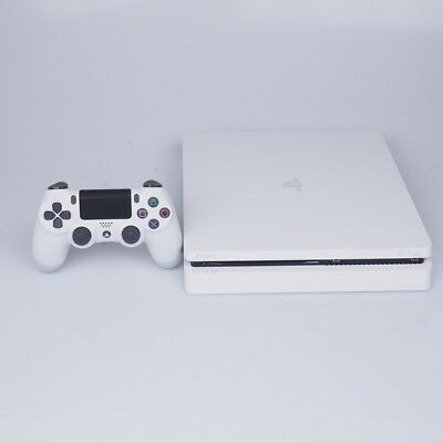 Sony PlayStation 4 PS4 Slim 500GB with Controller - White (A region Blu-ray)