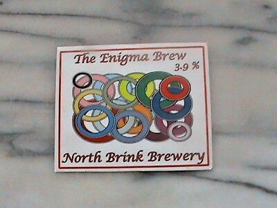 Elgood's The Enigma Brew real ale beer pump clip sign