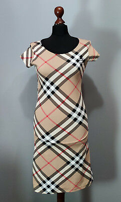 Burberry Womans Dress Size L 250 00 Picclick