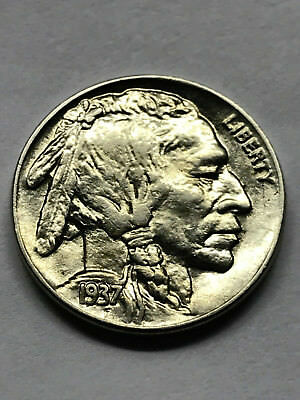 1937-P Buffalo Nickel Gem BU #10695