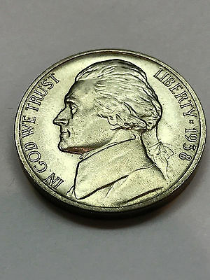 1938 Jefferson Nickel Gem BU #2153