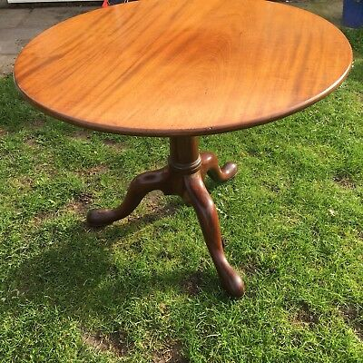 Antique Early Georgian Table With Bird Cage