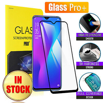 For Oppo R17 R17 Pro 5D Full Coverage Tempered Glass Pro+ Screen Protector Film