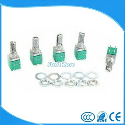 10pcs B5K B10K B20K B50K B100K RK097 Audio Amplifier Sealed single Potentiometer