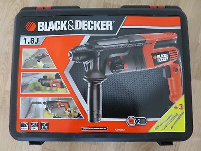 Black + Decker KD860KA Perceuse à percussion 600 W