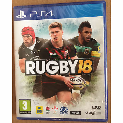 Rugby 18 (PS4) New and Sealed
