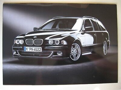 Prospekt Mappe BMW 5er E39 touring Highline Sport Exclusive 2004 D brochure