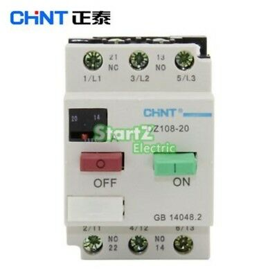 CHNT DZ108-20/211 8A (5-8A) Motor protection Motor switch Circuit breaker 3VE1