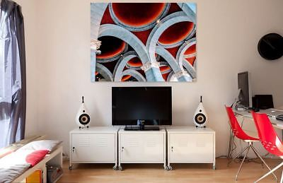 BEAUTIFUL BUILDING  ART ARCHITECTURAL picture Canvas home wall choose your size