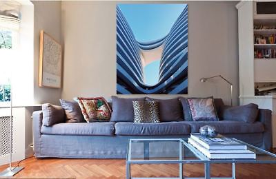 ARCHITECTURAL DESIGN BUILDING  ART picture Canvas home wall choose your size