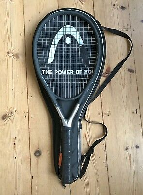 HEAD Titanium Ti S6 Tennis Racket with Cover, Size L4 4-1/2 grip, nearly new VGC