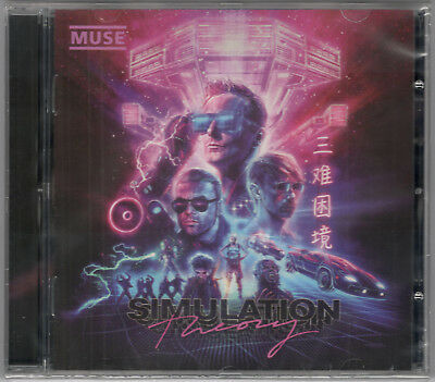 Muse Simulation Theory Sealed Cd New
