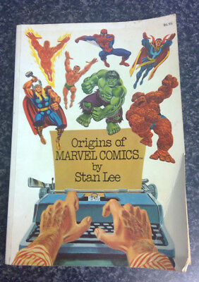 Origins of Marvel Comics by Stan Lee