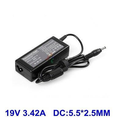 19V 3.42A 65W Laptop Charger AC Adapter For Toshiba SATELLITE c655 C660 L300 L45