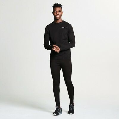 Dare 2B Men's Insulate Base Layer Set Black Top And Trousers Dmu305