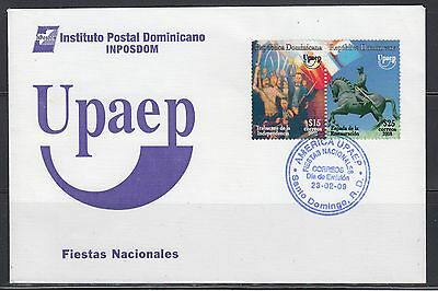 Dominican Republic 2009 America Liberty Sc 1462 First Day Cover