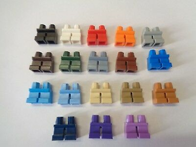 LEGO Minifig Paire Jambes Enfant Nain Child Legs (41879) Choose Color NEUF NEW