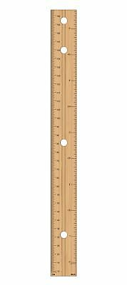 Ruler Bedroom Boy Girl Kids Tall Wood Gift Wall Height Chart