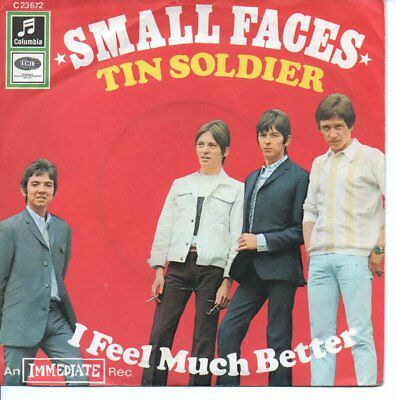 """The Small Faces 7""""++Tin Soldier++Deutschland+++"""