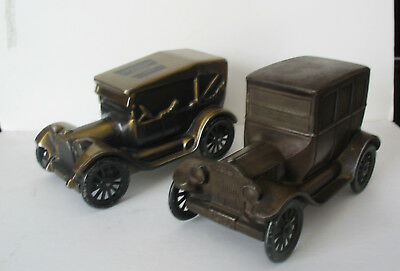 TWO BATHRICO BANKS - Dodge Bros. & Model t Ford nice condition CHEAP!