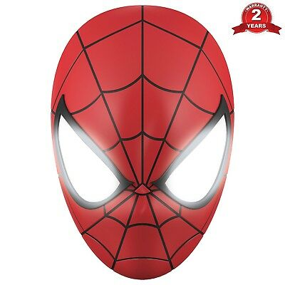 3D Spider Man Red Wall Light Lightweight & Portable Led Night Light Wall Mounted